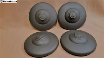 Set of Four Matching KdF Hubcaps