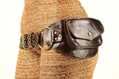 Buy Designer Leather Pocket Belts for Women