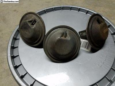 Used,oem 3 Big vacuum canisters