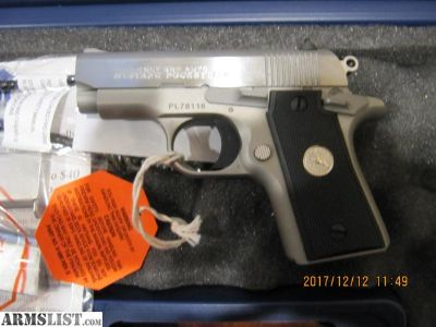 For Sale: Colt mustang pocketlite 380