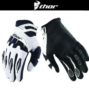 Find Thor Youth Spectrum White Black Dirt Bike Gloves Motocross MX ATV 2014 motorcycle in Ashton, Illinois, US, for US $19.95