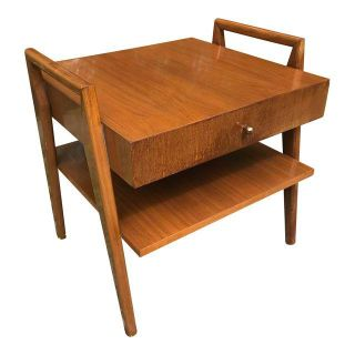 Mid Century Side Table / Night Stand