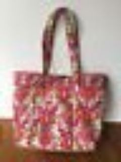 Vera Bradley Large Laptop Tote Lilli Bell new