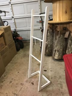 Wooden stand for light weight objects, bought on here wasn t tall enough for my needs.