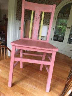Painted Garden Theme Table
