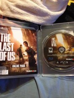 WTSWTT Ps3 THE LAST OF US game in like new condition FOR COBRA RADAR