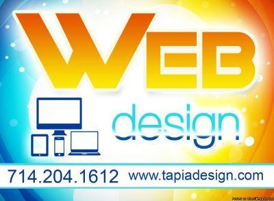 Logo and website design in Anaheim