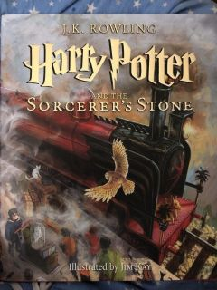 Harry Potter and the Sorcerer s Stone HARD COVER