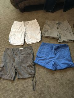 Shorts size 10. EUC. $15 for all. Very nice shorts. Great deal!
