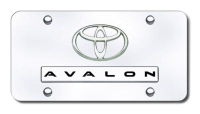 Sell Toyota Dual Avalon Chrome on Chrome License Plate Made in USA Genuine motorcycle in San Tan Valley, Arizona, US, for US $35.13