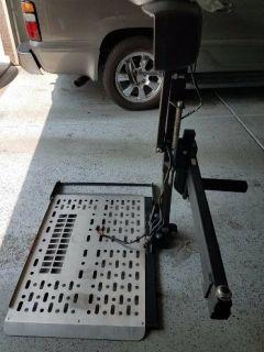 Harmar heavy duty scooter lift