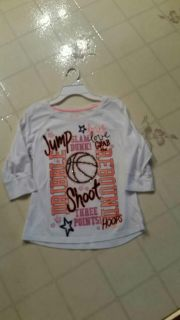 Girls Justice size 14, 3/4 length sleeves