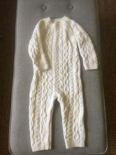 Hope & Henry Organic Sweater Suit - 12-18 Months
