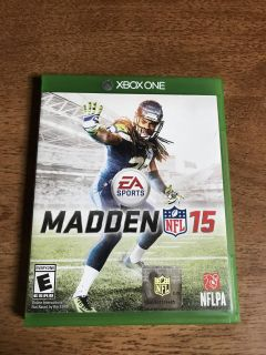 Xbox One Madden 15 Videogame