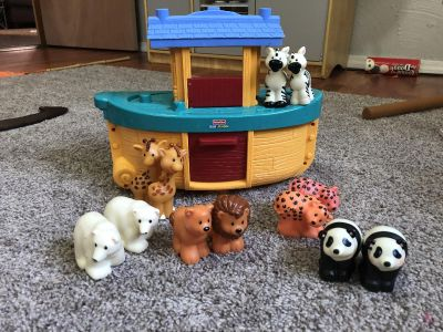 Little People Noah s Ark with Animals