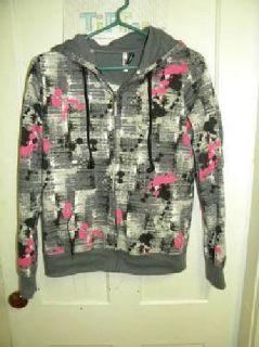 $10 Musical Zip up Sweater