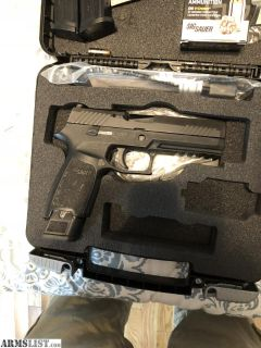 For Sale: Full-size sig p320 9mm