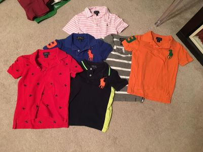 6 Collared Shirts (Size 4/5) All for $15
