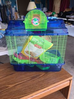 Hamster cage. Like new