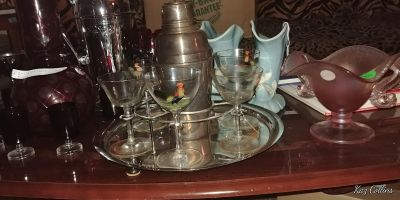 Art Deco Cocktail Sets and other antiques