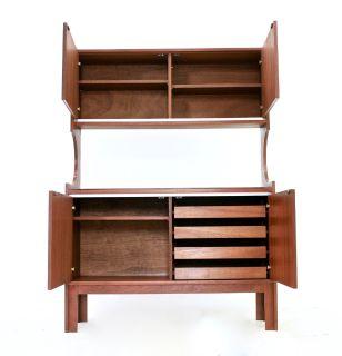 Mid Century Bookcase/wall Unit Danish