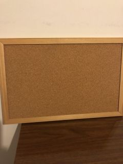 NEW 11 x 17 Hanging Cork Board was $12