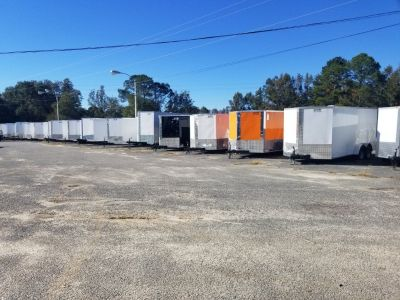 7x16ft. Enclosed Trailer Closeout Sale!!!