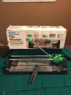 Tile master quarry floor and wall tile cutter