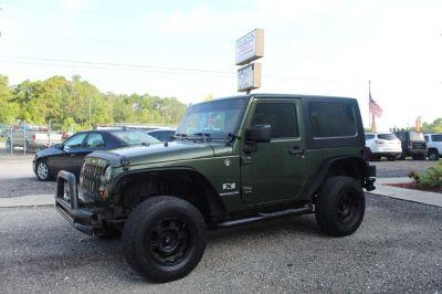 2008 Jeep Wrangler X (Green)