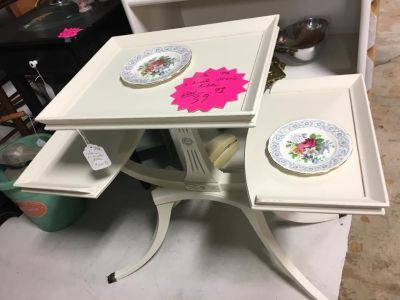 Three Tiered Accent Table @ Brass Bear 2652 Valleydale Rd Birmingham (Hoover area) AL 35244 -- 205-566-0601