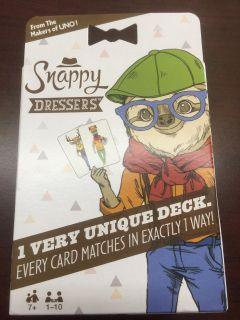 NEW - Snappy Dressers Matching Game