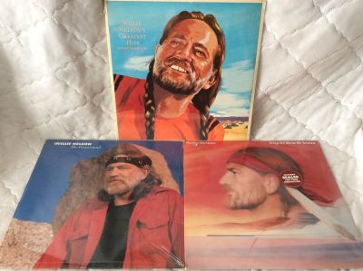Record/LPS: Willie Nelson