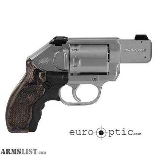 For Sale: Kimber K6s Stainless (LG) .357 Mag Revolver