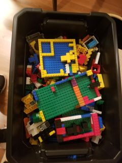 Legos and container