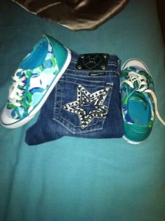 Miss me jeans and coach shoes( delrio only)