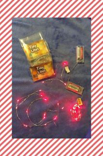 3 sets of red LED lights, all new and work, batteries not included, $10 *southeast Franklin pick up*