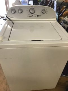 Whirlpool washer ge dryer