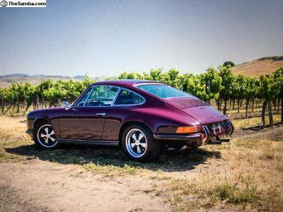 FS: 1973 Porsche 911 T Coupe MFI Aubergine/Black
