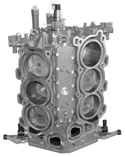Purchase Remanufactured Yamaha 225 HP V6 4-Stroke Short Block, 2004 and Up motorcycle in Scottsville, Kentucky, United States, for US $3,550.00