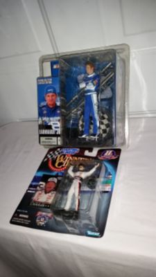 Dale Sr starting lineup 1998 and Dale Jr 2004 Series starting lineup. Both for $15