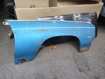 Buy 1970 CHEVROLET CHEVELLE MALIBU RIGHT FRONT FENDER , used GM. motorcycle in Shawsville, Virginia, United States, for US $125.00