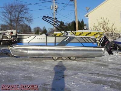 2017 Crest Caliber 230 SLC Pontoons Boats Edgerton, WI
