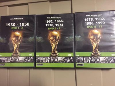 FIFA World Cup dvd collection