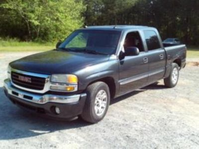 2005 GMC Sierra 1500 SLE (Grey)
