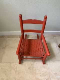 Antique toddler rocker
