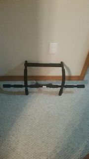 Golds gym work out bar with bands NWOT