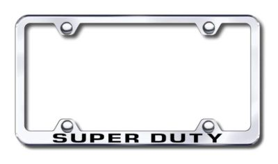 Sell Ford Super Duty Wide Body Engraved Chrome License Plate Frame -Metal Made in U motorcycle in San Tan Valley, Arizona, US, for US $30.98