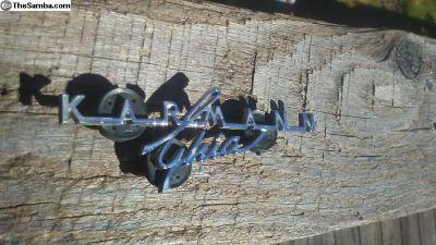 Nice Karmann Ghia small emblem dash