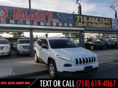 2016 Jeep Cherokee 4WD 4dr Sport (Bright White Clearcoat)