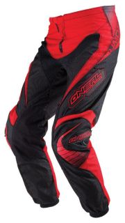 Find O'Neal Oneal Element Red Mens Size 28-38 Dirt Bike Pants Off-Road Motocross MX motorcycle in Ashton, Illinois, US, for US $71.95
